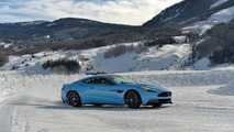 Aston Martin On Ice Winter Driving Experience