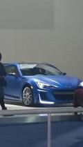 Mistery Subaru BRZ at New York Auto Show