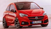 2015 Opel Corsa OPC rendering / X-Tomi Design