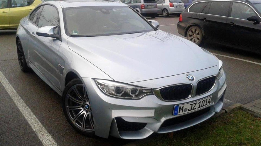 2014 BMW M4 Coupe photographed in Ingolstadt