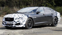 Facelifted Jaguar XJR spied again