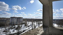 Land Rover Journey of Discovery in Chernobyl, Ukraine 28.03.2012
