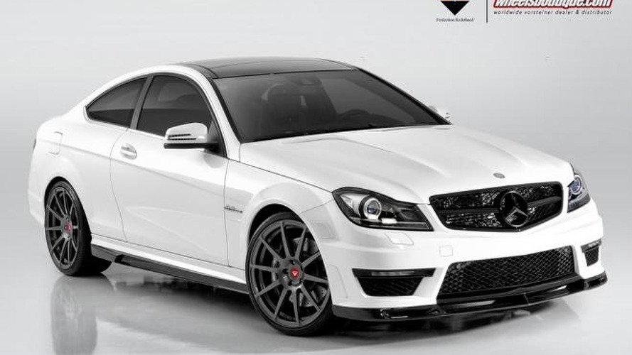 Vorsteiner reveals their Mercedes C63 AMG Coupe kit