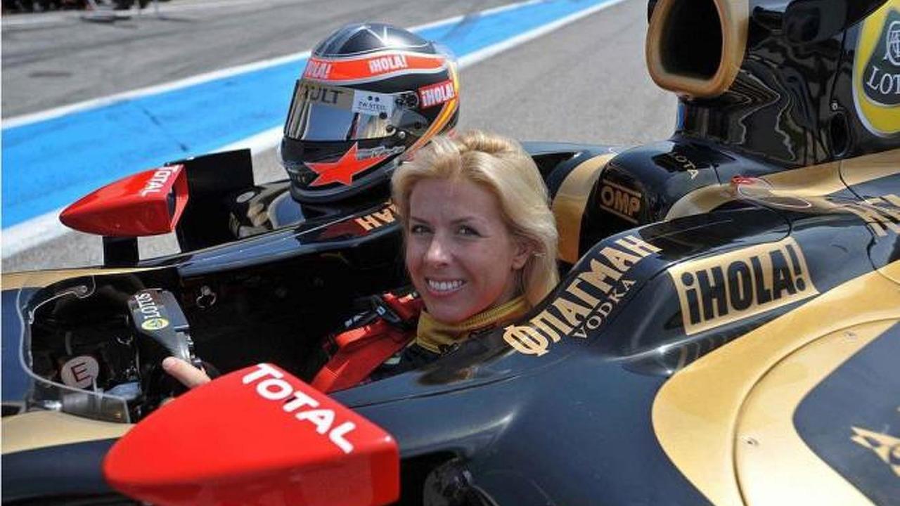 Maria de Villota F1 test with LRGP, 964, 18.07.2012