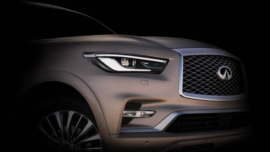 2018 Infiniti QX80 Teased Ahead Of November 14 Debut
