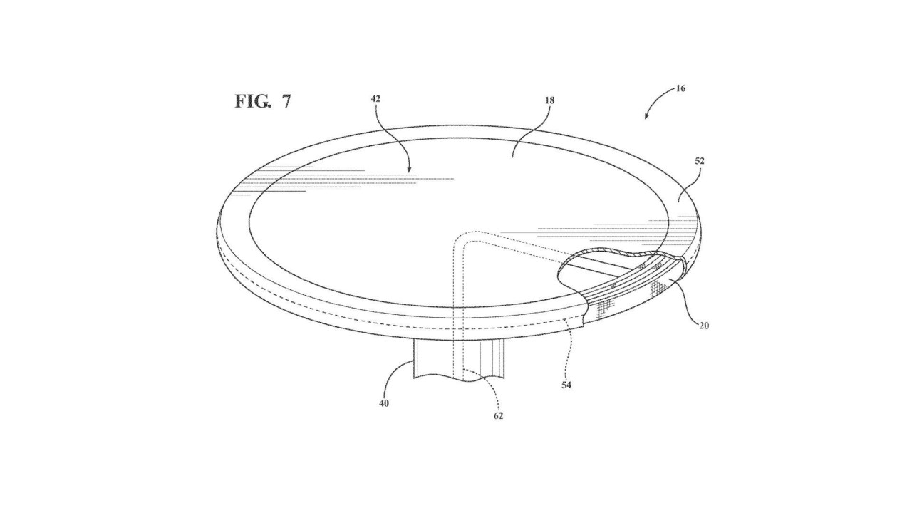 Retractable Table ford patents retractable table with airbags for autonomous cars