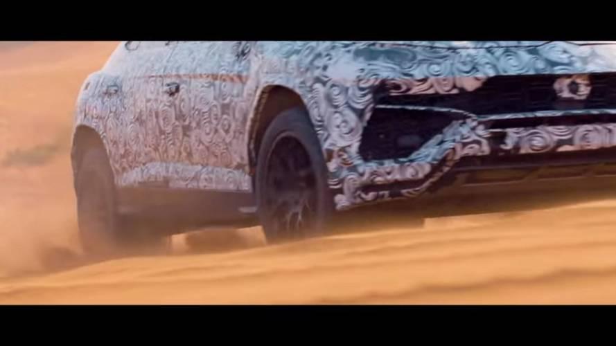 Lamborghini mostra detalhes e exalta capacidade off-road do Urus