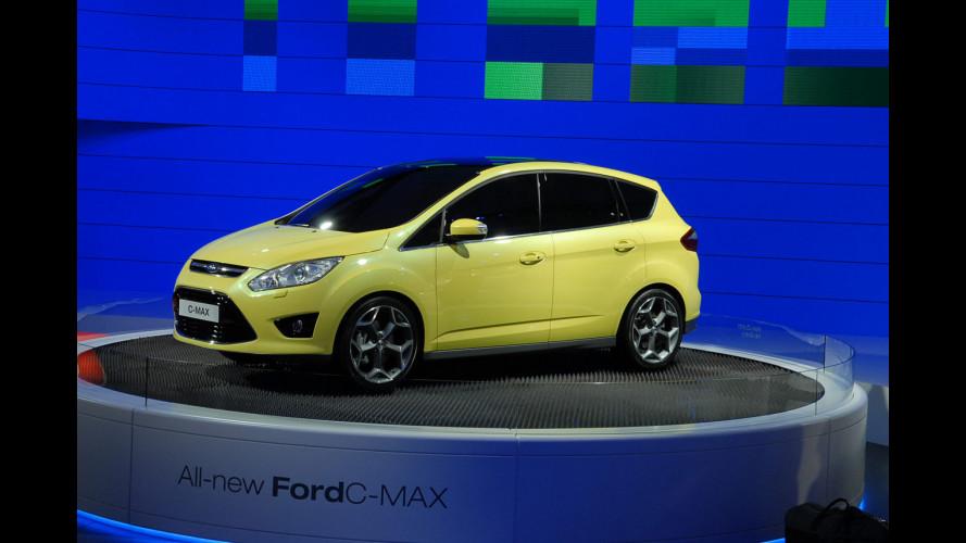 Ford C-Max ibrida e ibrida plug-in nel 2013