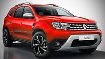 Renault Duster 2018 - Projeção