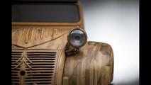 Citroën 2CV madera