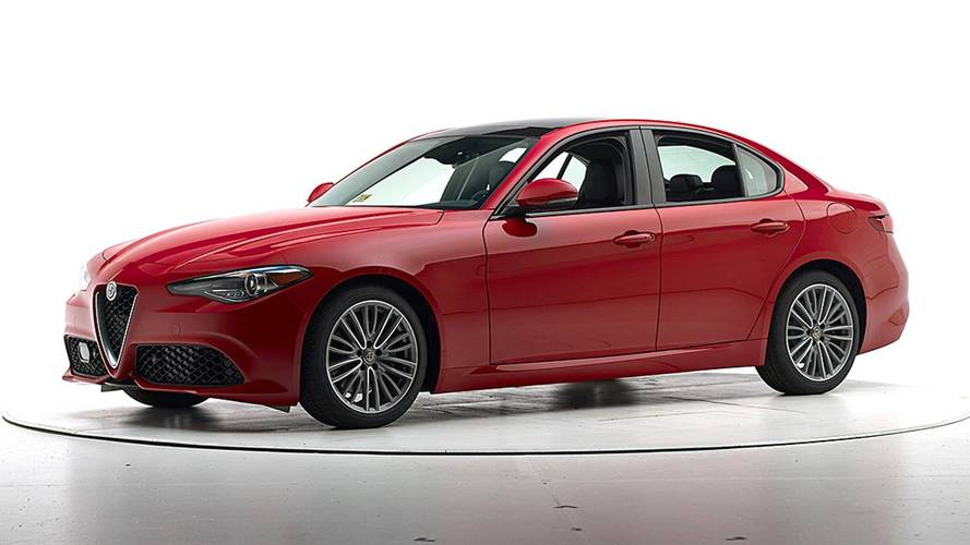 Alfa Romeo Giulia IIHS Crash Test