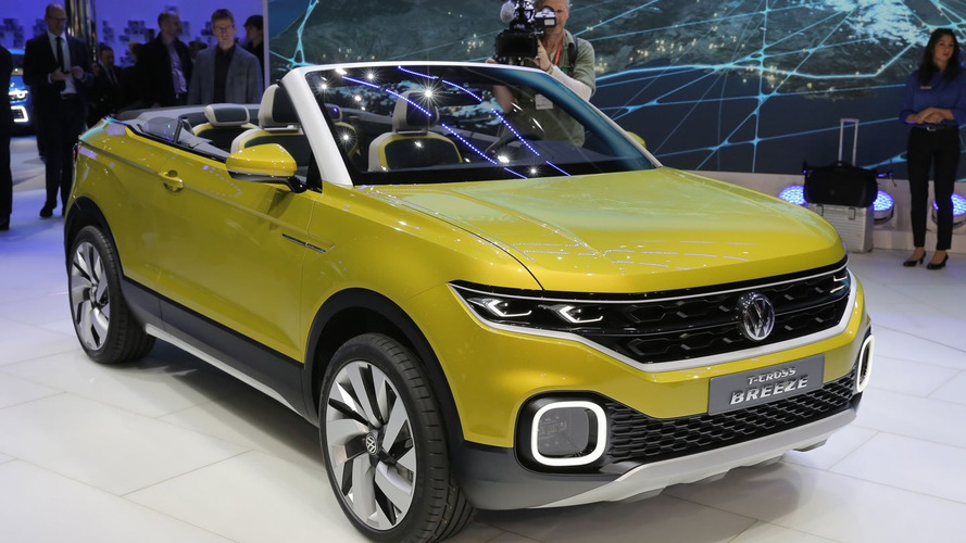 vw t cross breeze concept previews small crossover cabrio. Black Bedroom Furniture Sets. Home Design Ideas