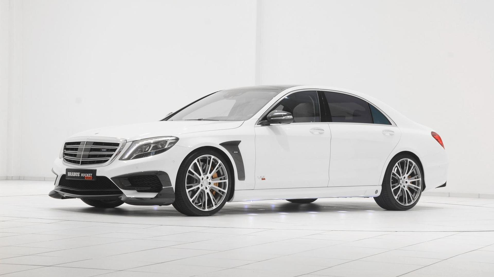 Brabus rocket 900 is a heavily tuned mercedes benz s65 amg for Mercedes benz amg s65