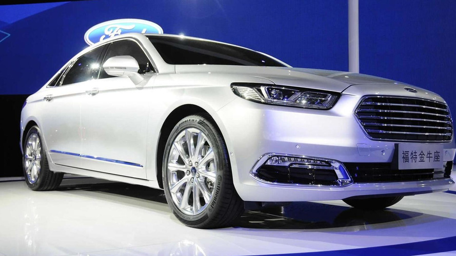 2016 Ford Taurus debuts at Auto Shanghai as a premium business sedan