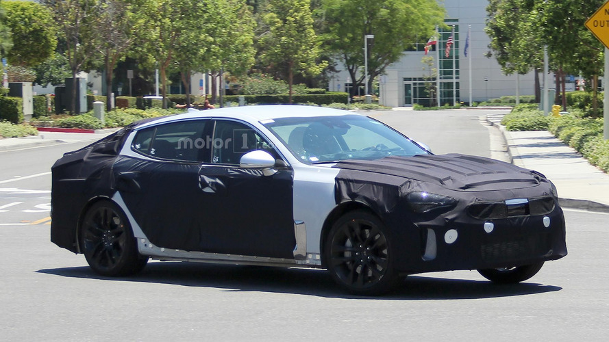 Rear-wheel drive Kia Stinger could be coming in 2017