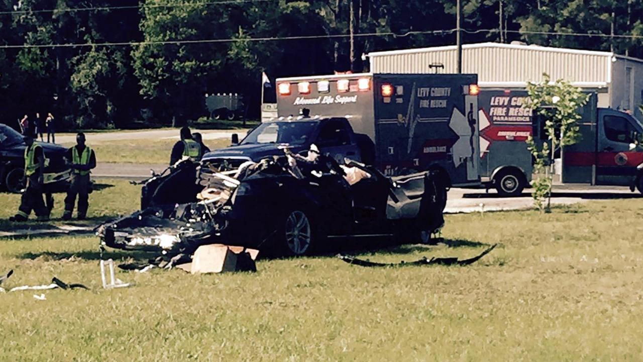 Tesla Autopilot crash