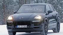 Spyshot du Porsche Cayenne 2018