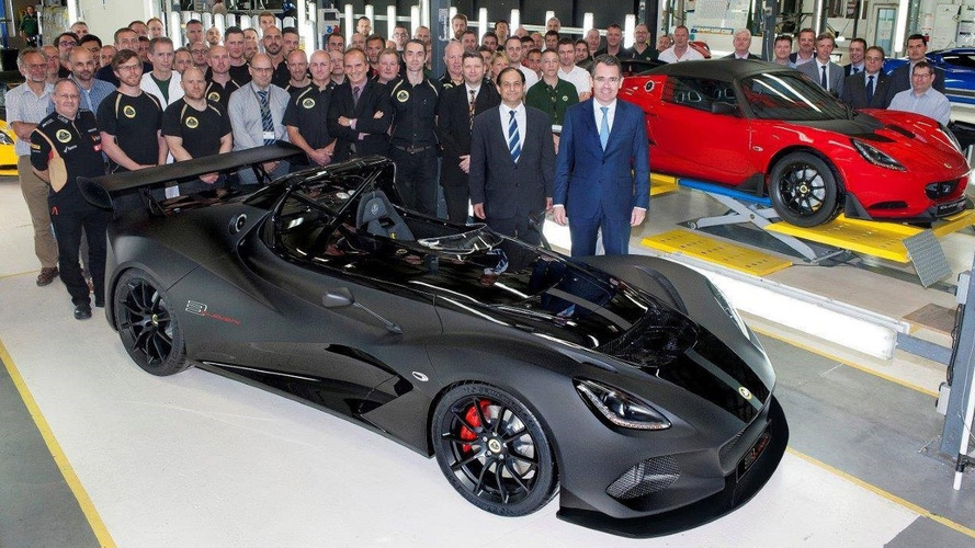 Lotus 3-Eleven and Elise Cup 250 start production