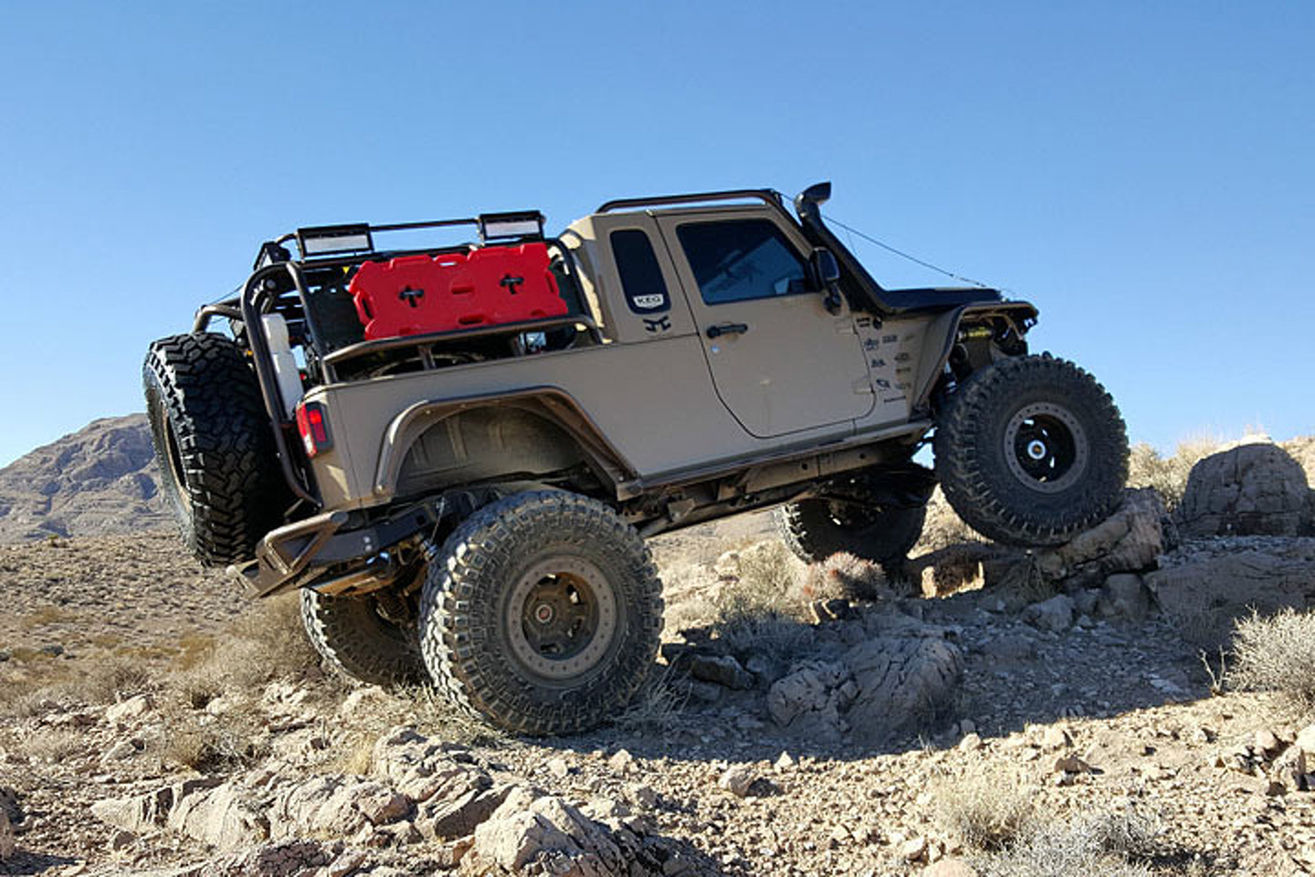 ebay jeep wrangler pickup looks ready to rock 'n roll