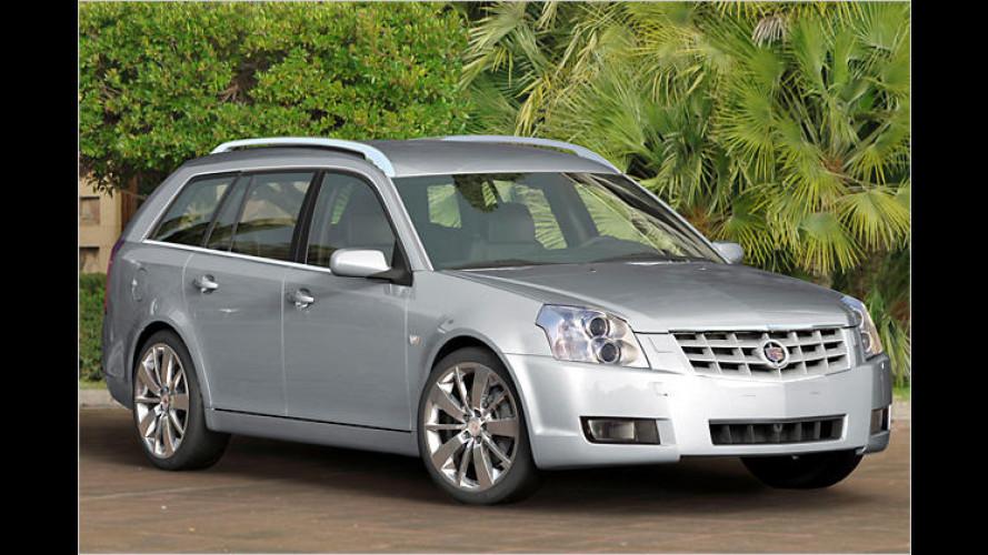 Cadillac reißt die Klappe auf: BLS Wagon kommt noch 2007