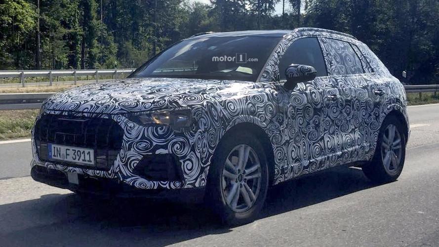 Yeni Audi Q3 evrimsel tasarımını saklarken görüntülendi