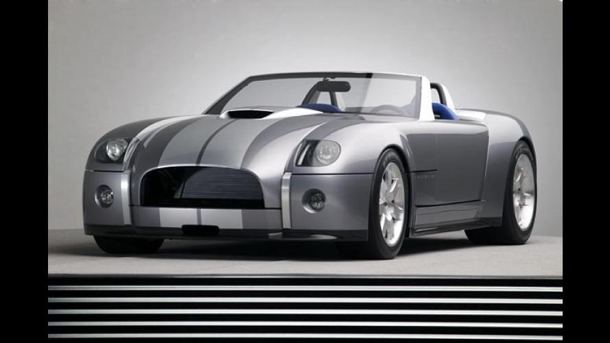 Ultrastarke Ford-Studie in Detroit: Alarm für Cobra zehn