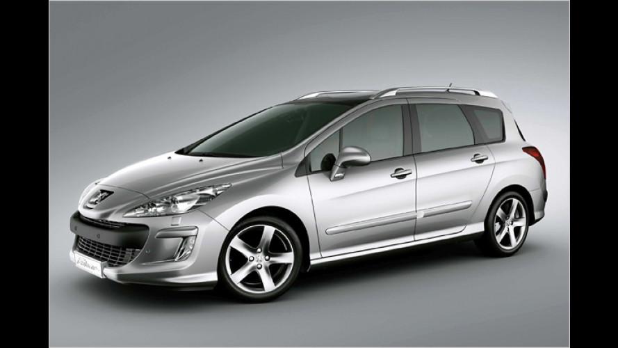 Peugeot auf der IAA: 308 und viele starke Concept Cars