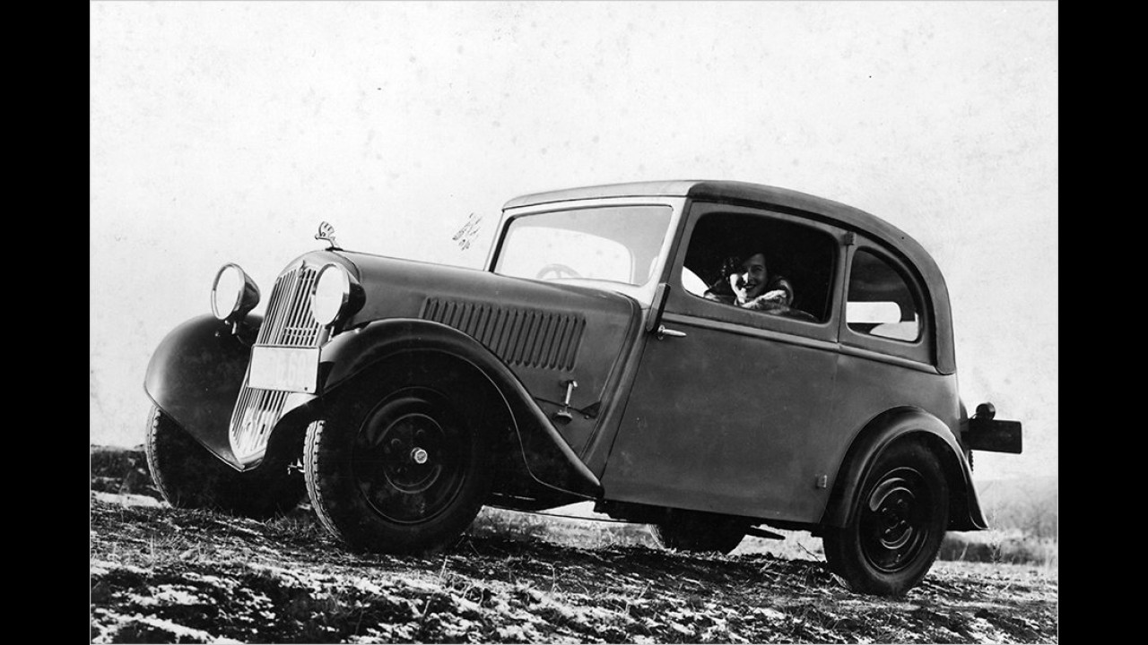 1934: Skoda 418 Popular