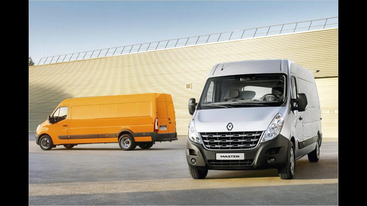 Transporter, 50.001 bis 100.000 Kilometer: Renault Master (2010)