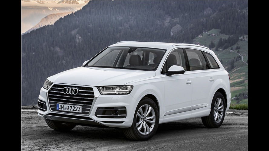 Audi Q7: Neuer Diesel, neuer Preis