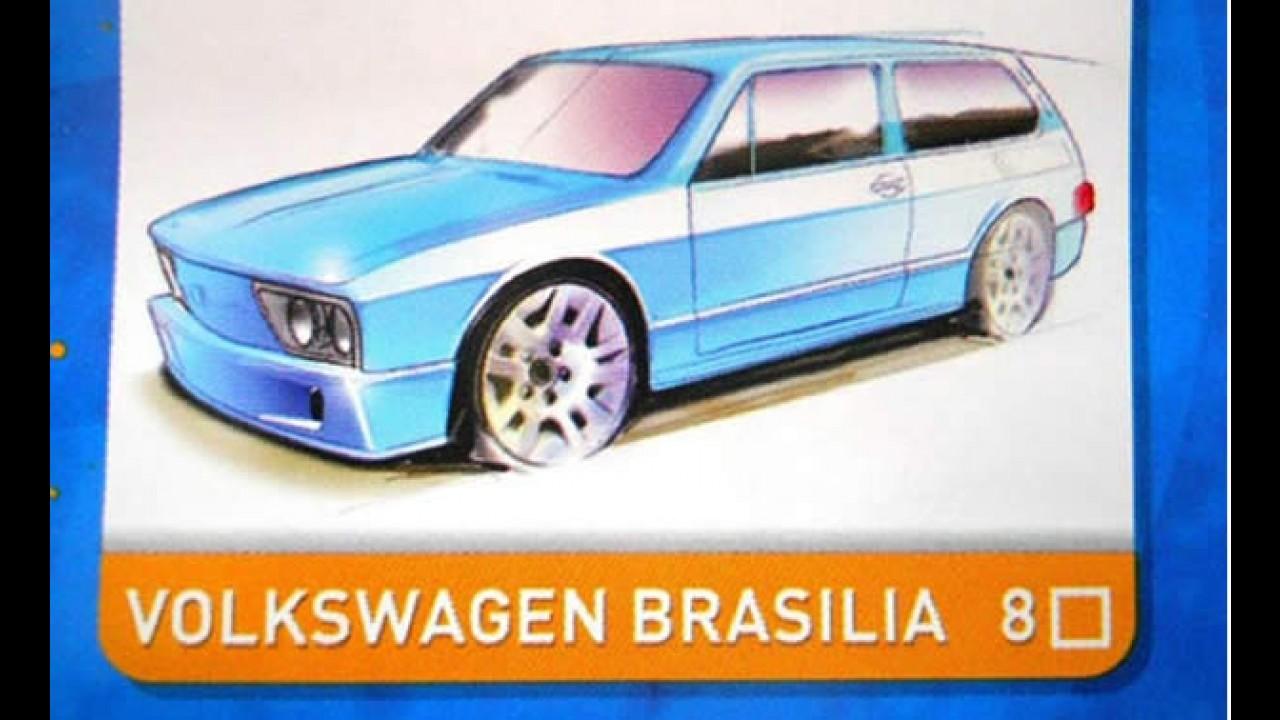 Volkswagen Brasilia vai virar Hot Wheels