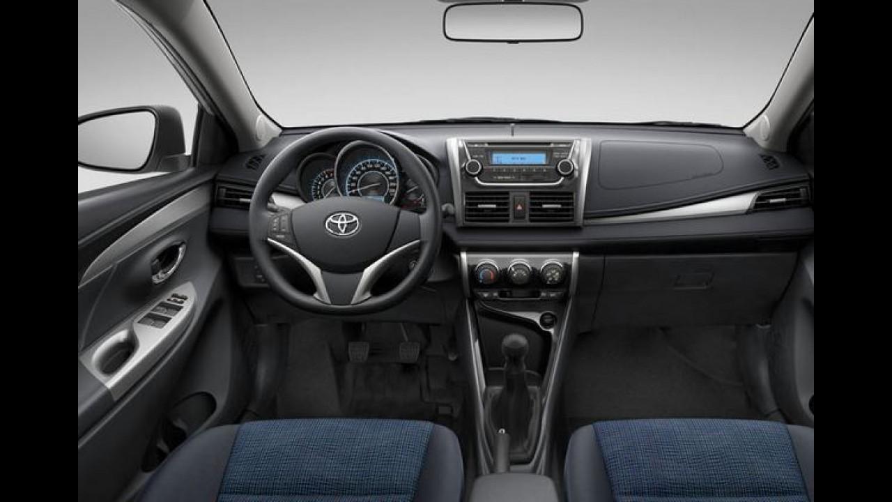 Toyota Vios é lançado no Uruguai como Yaris Sedan, mas custa caro