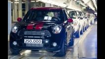Mini comemora produção de 250 mil unidades do Countryman
