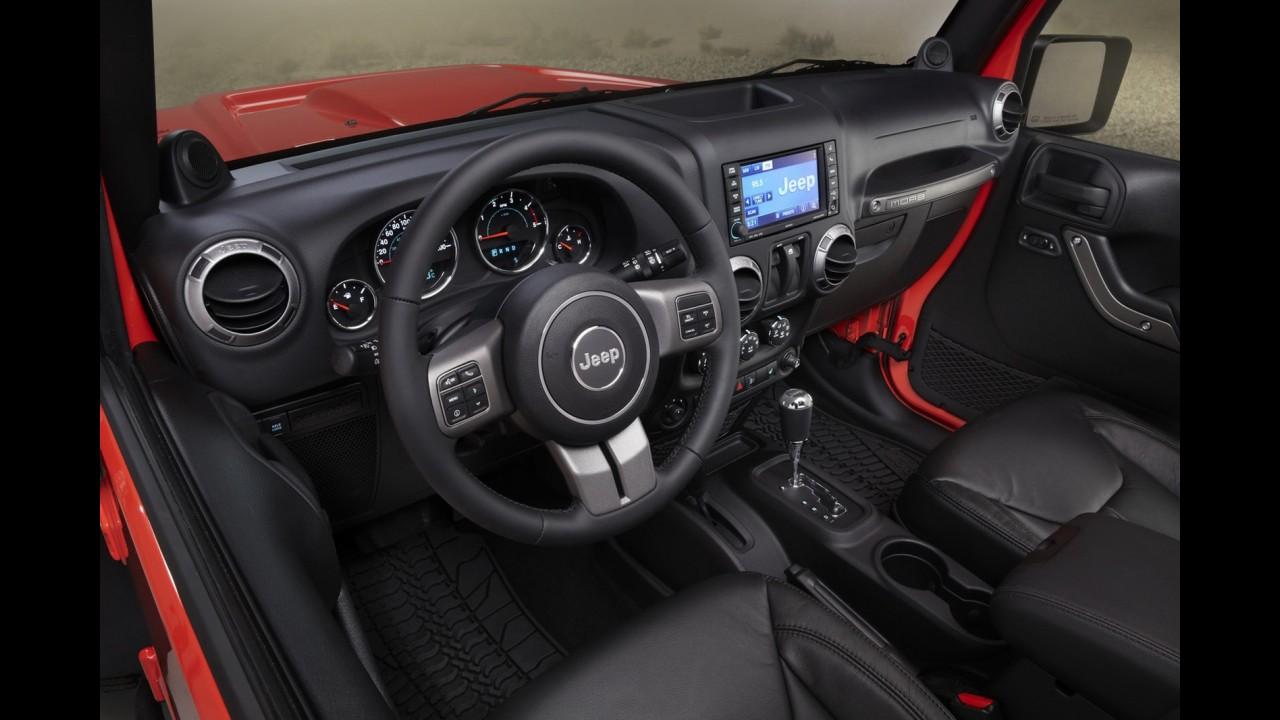 Jeep apresentará novidades para os modelos Grand Cherokee, Compass e Wrangler no Salão de Paris