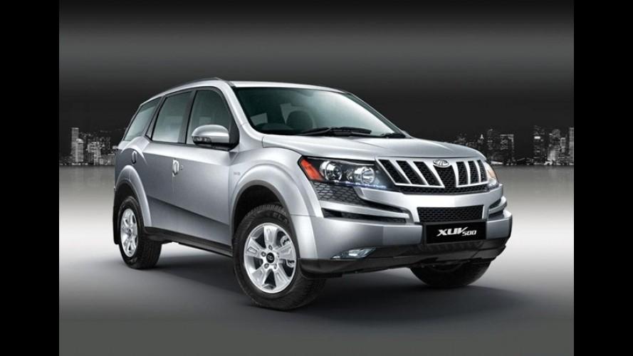 SUV indiano: Mahindra XUV500 será lançado na Europa em 2012