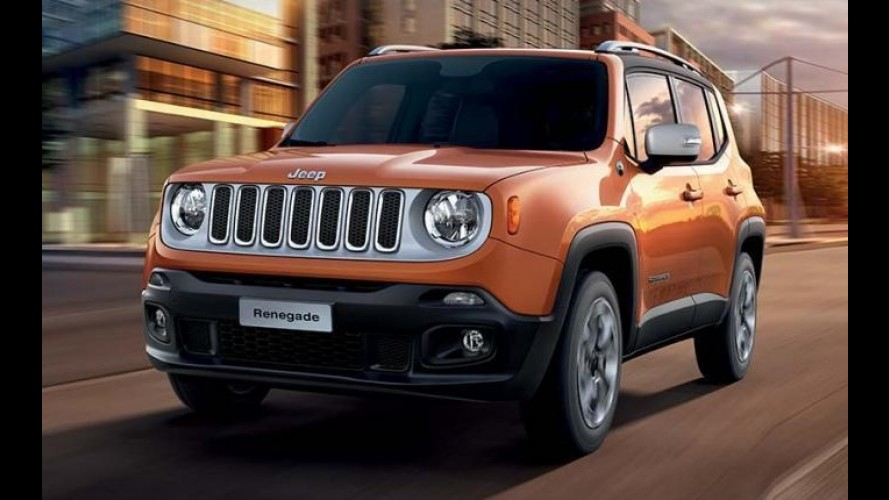 Jeep Renegade terá edição especial de lançamento