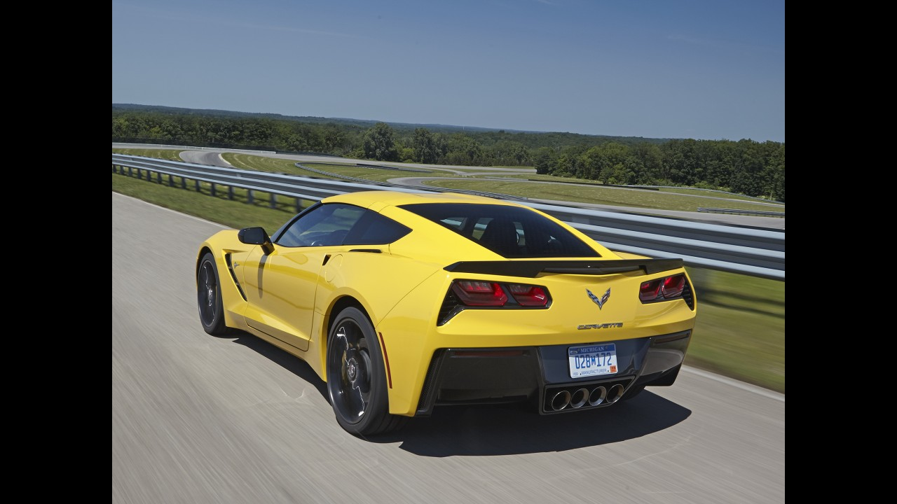 Corvette Z07 será lançado em 2015 com motor de 600 cavalos