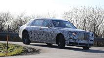 Rolls-Royce Phantom spy photo