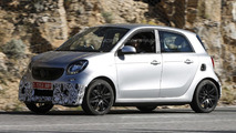 Smart ForFour Brabus spy photo