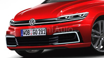 2017 VW Golf rendering