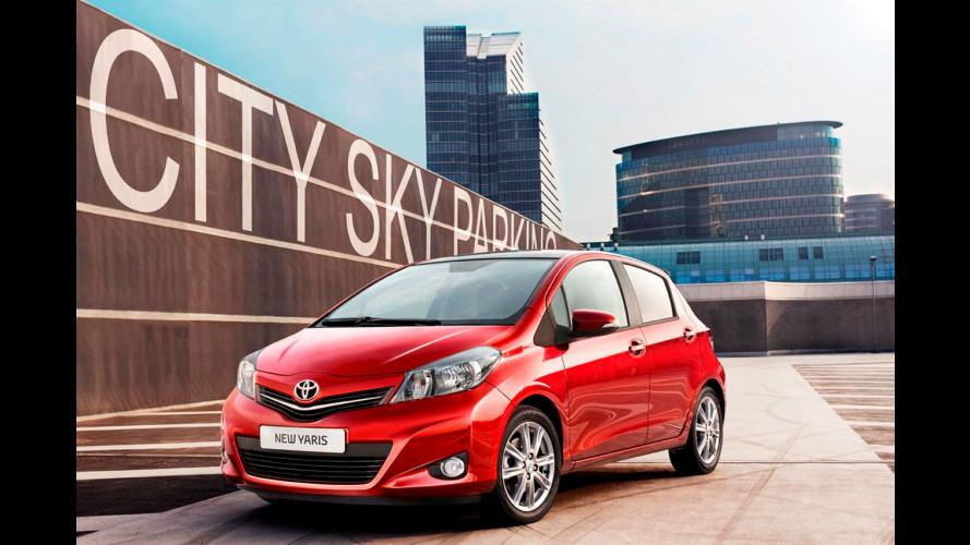 Nuova Toyota Yaris: inedite foto dal web