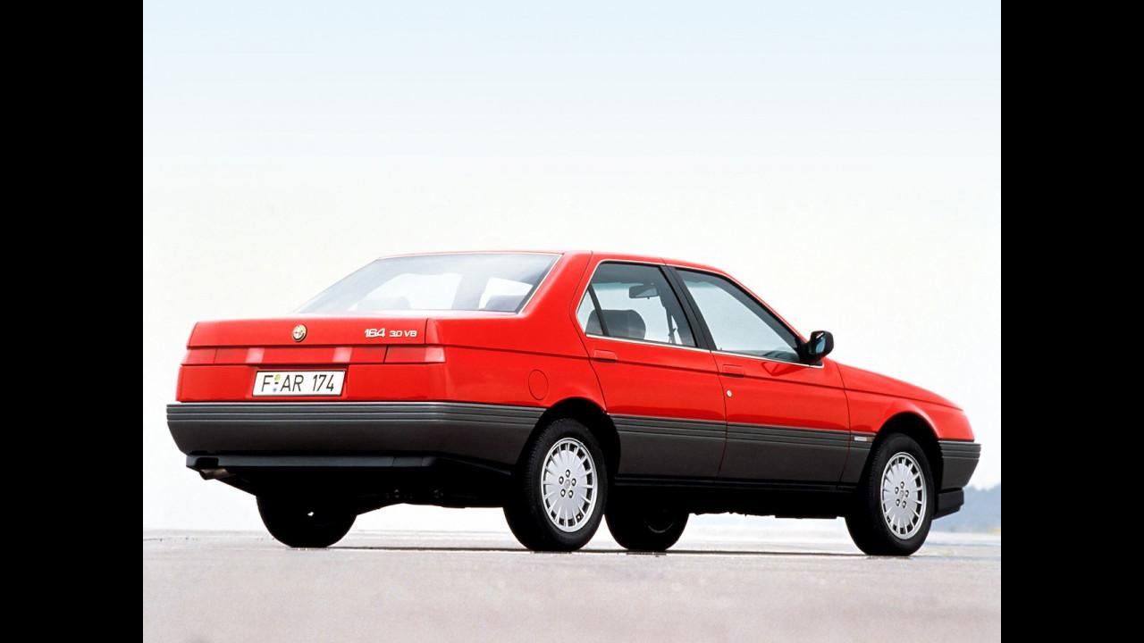Alfa Romeo 164, le foto storiche