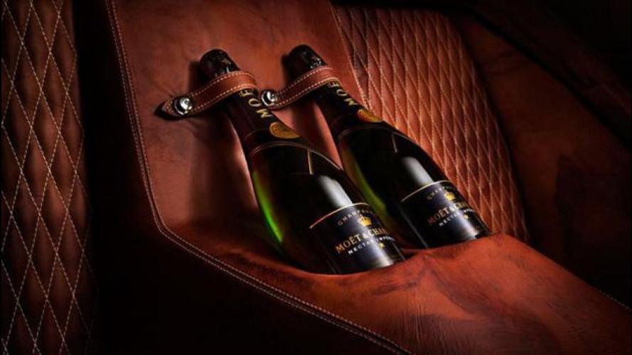 Aston Martin Vanquish come un cocktail bar con i ritocchi di Henrik Fisker
