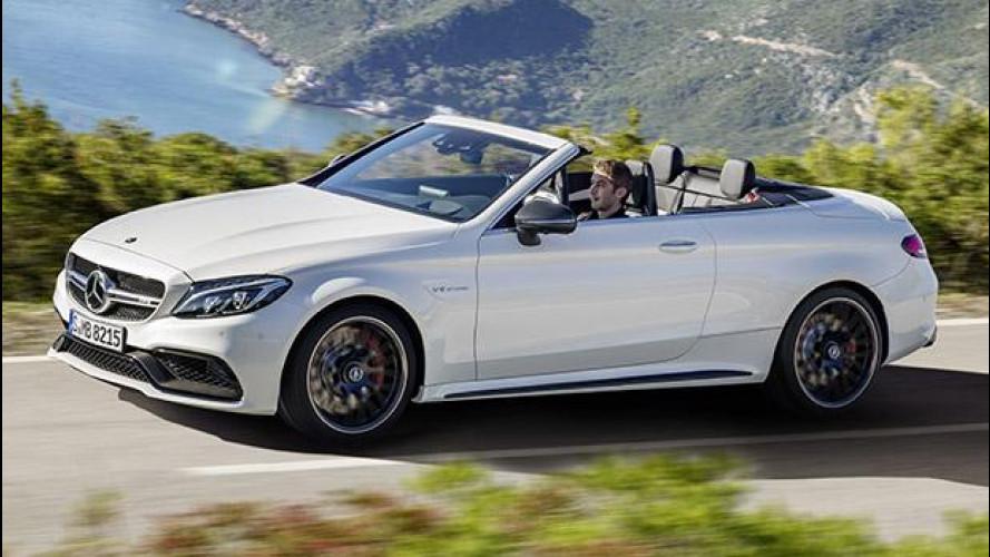 Mercedes-AMG C 63 Cabrio, anche la scoperta diventa sportiva