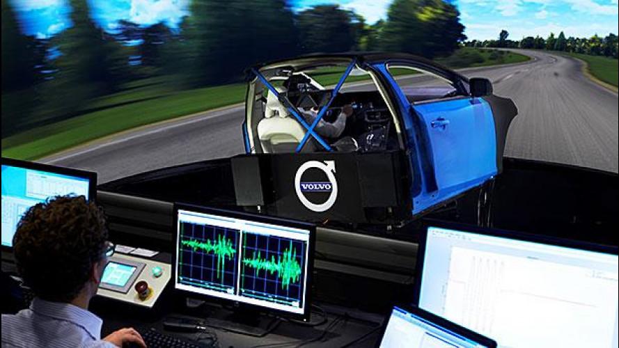 Volvo, un simulatore come Ferrari per le berline del futuro [Video]