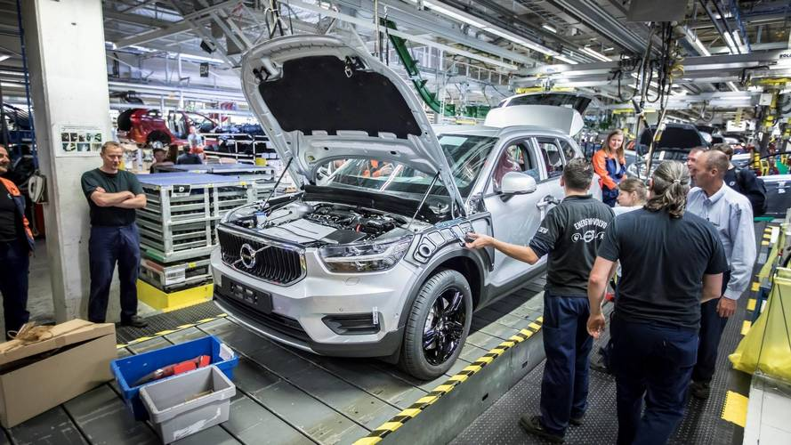 Baby Volvo SUV enters production