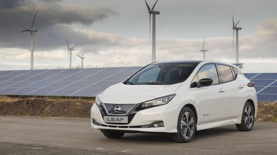 La Nissan Leaf 2018 entre en production en Europe
