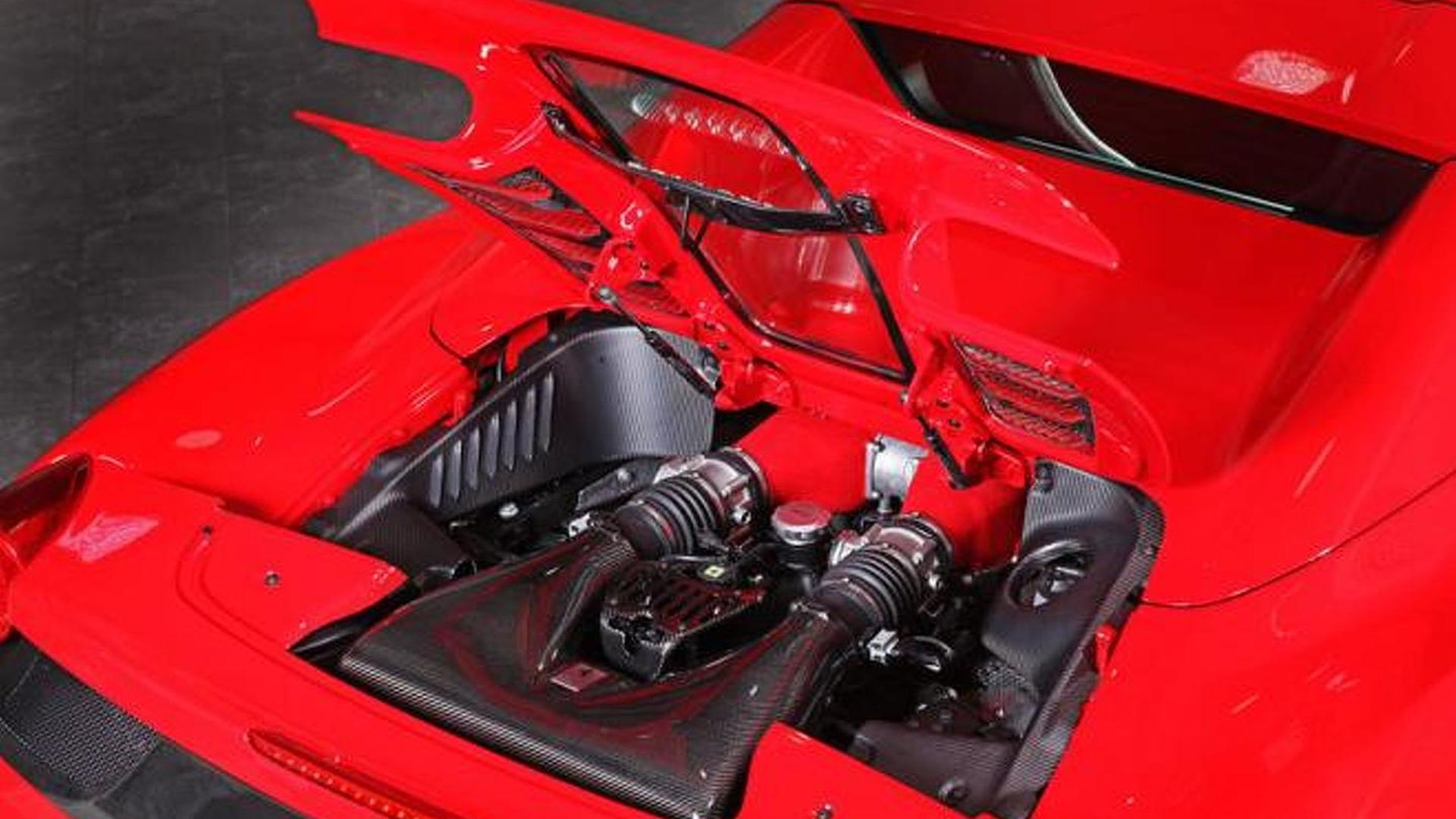 Ferrari 458 spider gets a carbon fiber engine cover from capristo vanachro Gallery