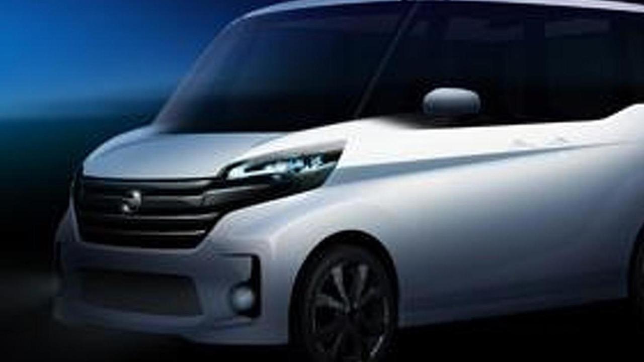 Nissan DAYZ ROOX teaser image 26.3.2013
