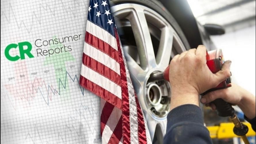 Affidabilità auto, ecco i marchi preferiti dagli americani nel 2016